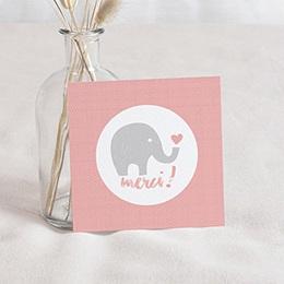 Remerciement Naissance UNICEF - Elephant Girl - 0
