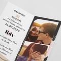 Faire-Part Mariage Géométrique pas cher