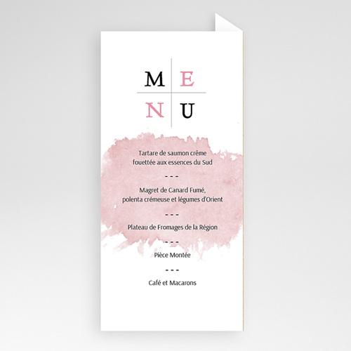 Menu de Mariage - Artistique 53215 thumb
