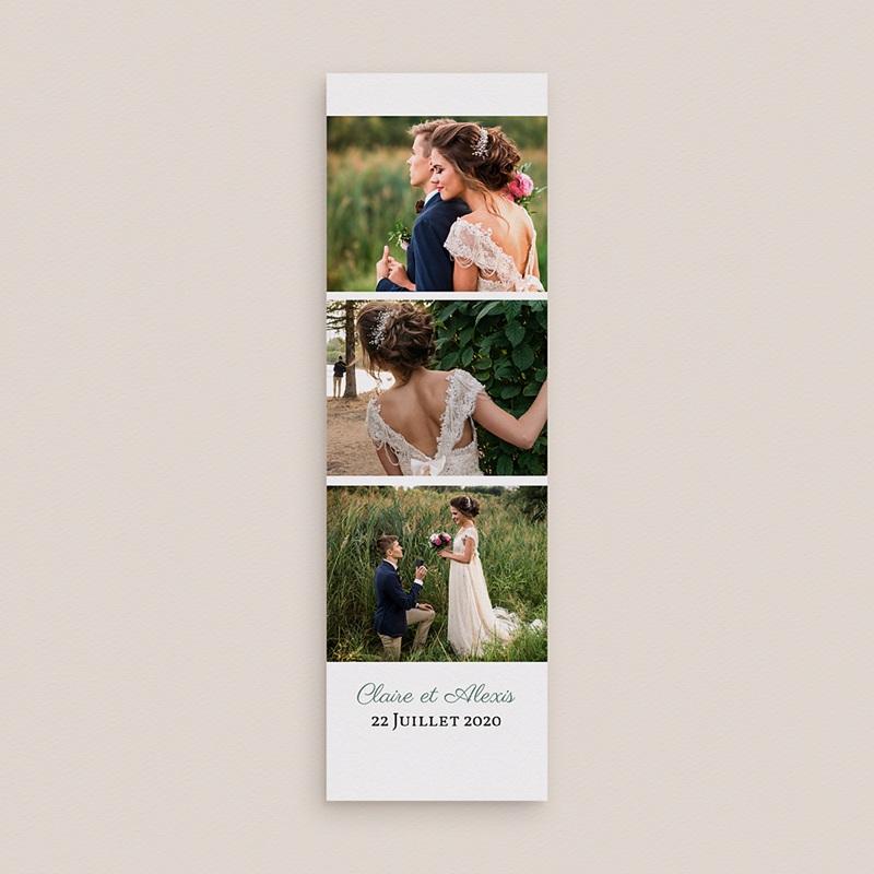 Carte Remerciements Mariage Charme Floral gratuit