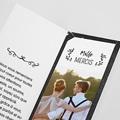 Carte Remerciements Mariage Merci Ardoise pas cher