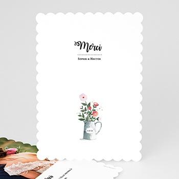 Remerciements Mariage Personnalisés - Bouquet rustique - 0