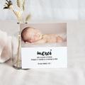 Carte remerciement naissance fille Sweet Origami pas cher