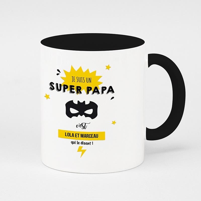 Mug Personnalisé de Couleur Pour super papa