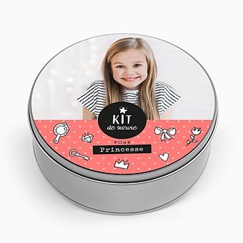 Boîte en métal personnalisée - Kit pour princesse - 0
