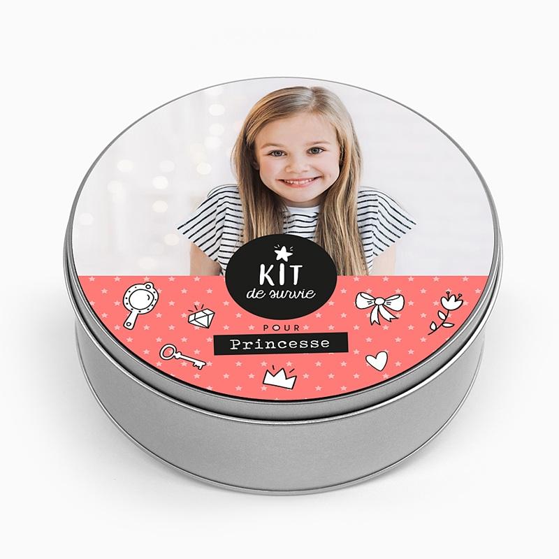 Boîte personnalisée Kit pour princesse
