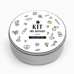 Boîte en métal personnalisée - Kit pour maman - 0