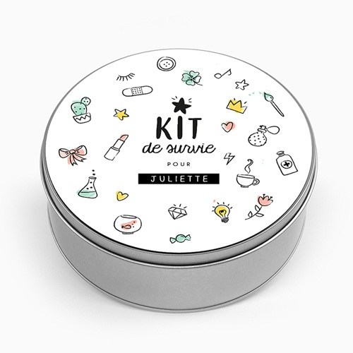 Boîte en métal personnalisée - Kit pour maman 53505 thumb