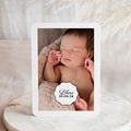 Faire-Part Naissance Fille - Vintage Look Girl 53567 thumb