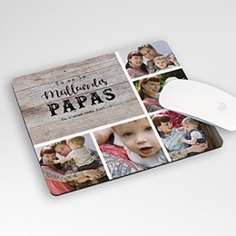 Tapis de Souris Personnalisé Photo - Papa d'Amour - 0