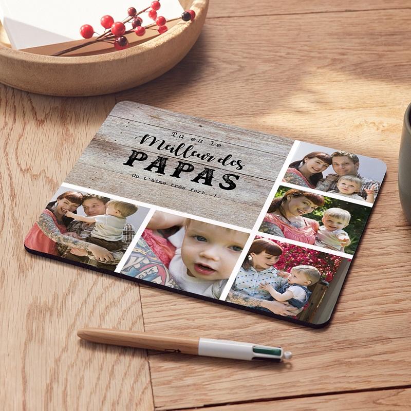 Tapis de souris personnalisé Amour De Papa