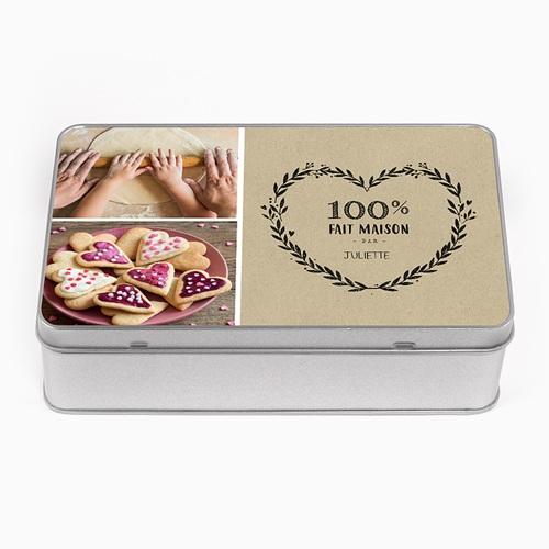 Boîte en métal personnalisée - Petits plaisirs 53657