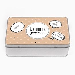 Boite métallique Cadeaux Boîte à idées