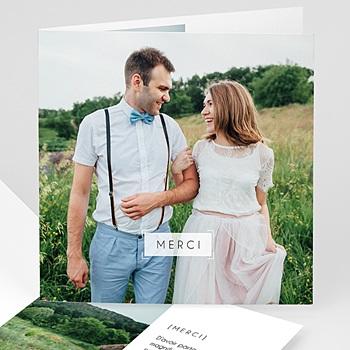 Carte remerciement mariage so nice personnalisé