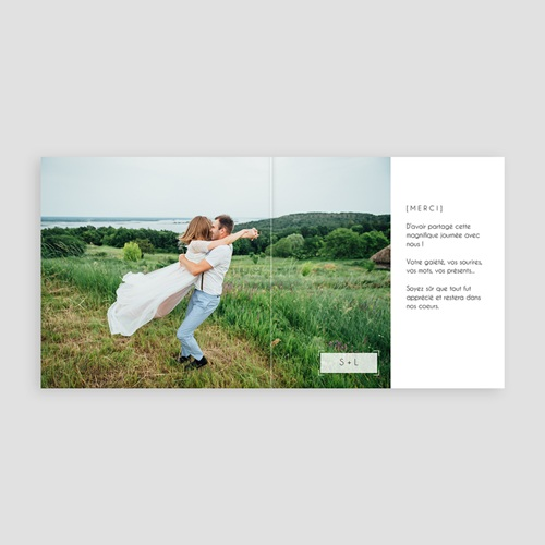 Carte Remerciements Mariage - So nice 53776 preview