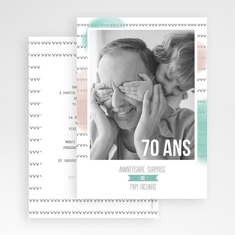 Carte Invitation Anniversaire Adulte Photo d'anniversaire gratuit