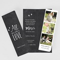 Carte remerciement mariage - Old school - 6373