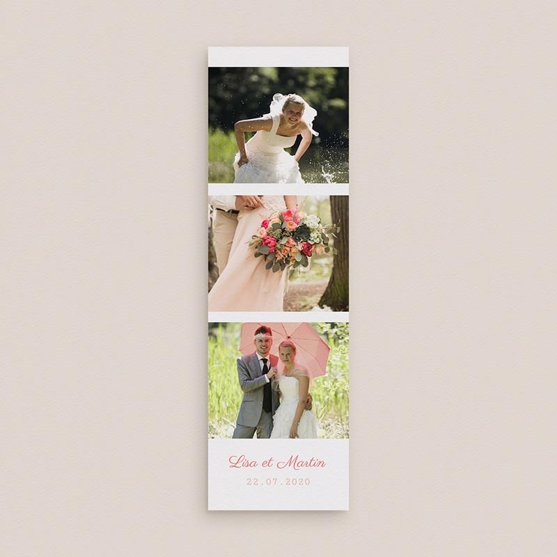 Remerciements Mariage Personnalisés Flamants Roses gratuit
