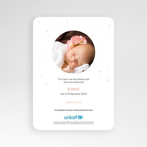Faire-Part Naissance Fille UNICEF - Petite biche 54056 preview