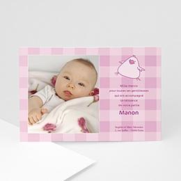 Remerciements Naissance Manon