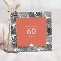 Carte Invitation Anniversaire Adulte Climat Tropical