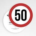 Carte Invitation Anniversaire Adulte Zone 50 gratuit