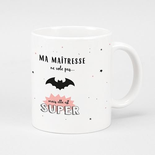 Mug Personnalisé Photo Super Maîtresse