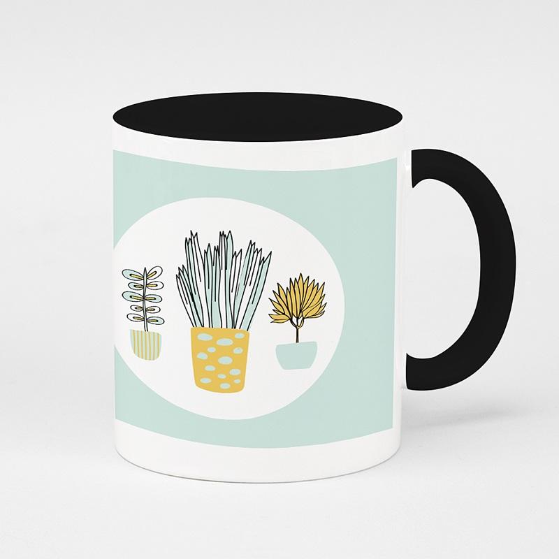 Mug Personnalisé Photo Merci pour les Plantes