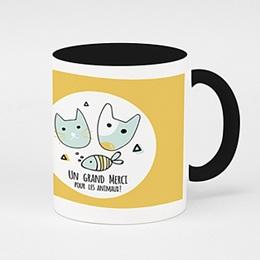 Mug Cadeaux Merci pour les Animaux !