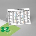Calendrier de Poche 2020 Pharmacie, vacances scolaires et jours fériés pas cher