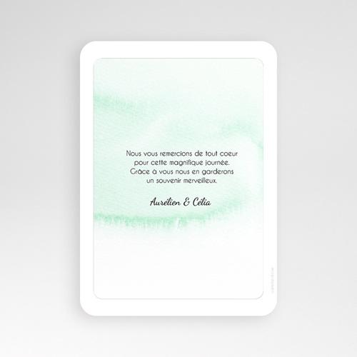 Carte Remerciements Mariage - Pastille Merci 54682 thumb