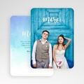 Carte Remerciement Mariage Photo & Merci gratuit