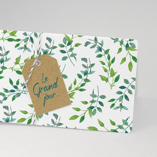 Faire-Part mariage champêtre - Nature & Kraft 54815 preview