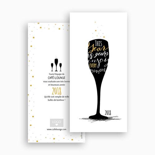 Cartes de Voeux Professionnels - A la nouvelle année ! 54836 thumb