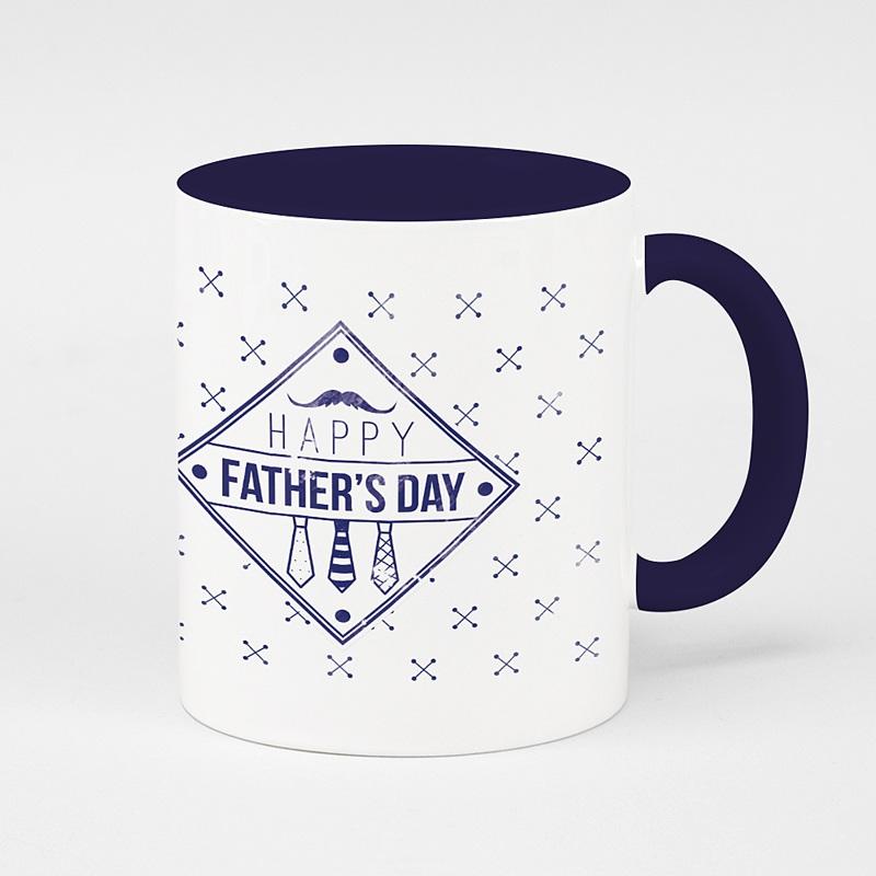 Mug Personnalisé Fête des Pères Papa Vintage