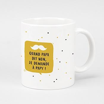 Mug fête des grands-pères - Mon papy - 0