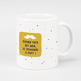 Mug fête des grands-pères Mon papy
