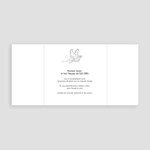 Cartes de Voeux Professionnels - Dovea 55042 thumb