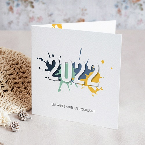 Carte de Voeux 2018 - Splash 55068 thumb