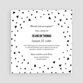 Carte Invitation Anniversaire Adulte Triangles Chic pas cher