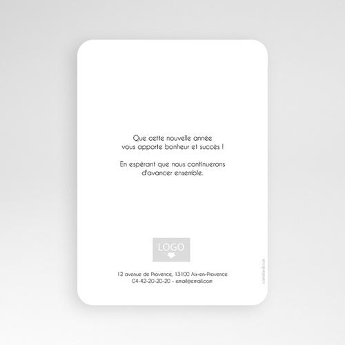 Cartes de Voeux Professionnels - Rayures et Dorure 55118 thumb