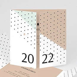Voeux Pro Nouvel An Géométrique