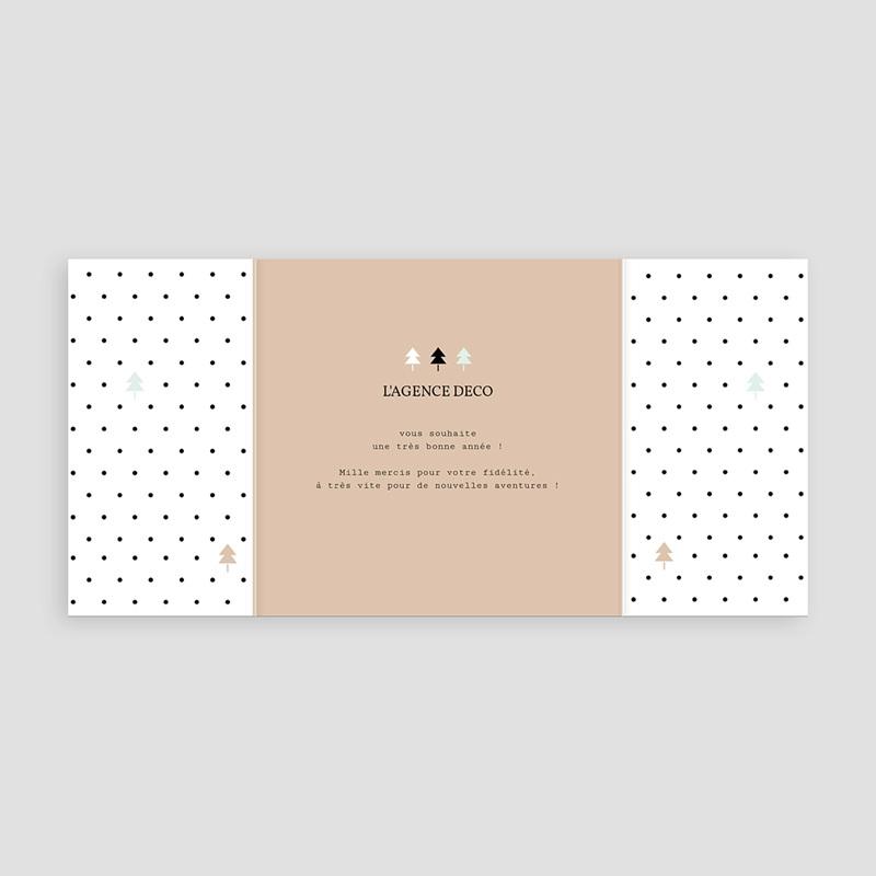 Carte de Voeux Professionnelle - Géométrique 55268 thumb