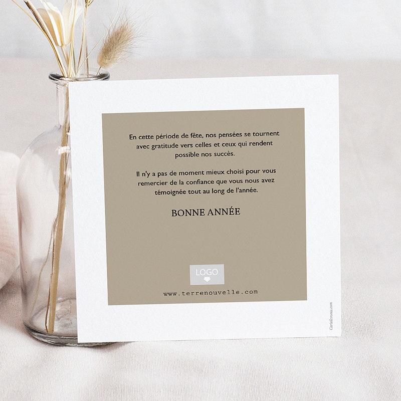 Carte de Voeux Professionnelle - Photo & Typographie 55286 thumb