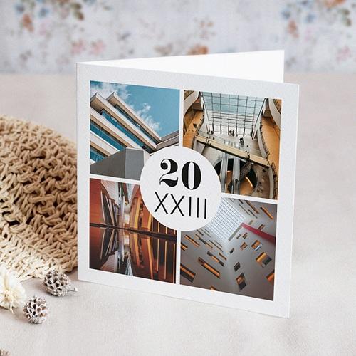 Carte de Voeux Professionnelle - Archi Moderne 55321 thumb