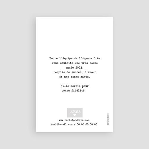 Carte de Voeux Professionnelle - Pois & Dorure 55376 thumb