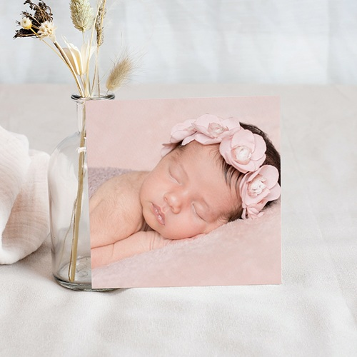 Remerciements Naissance Fille - Merci Or 55430 preview