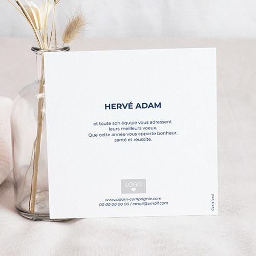 Cartes de Voeux Professionnels - Origami colombe bleue 55439 preview