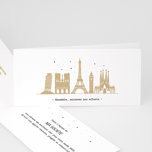 Carte de Voeux Professionnelle - European Cities 55513 thumb