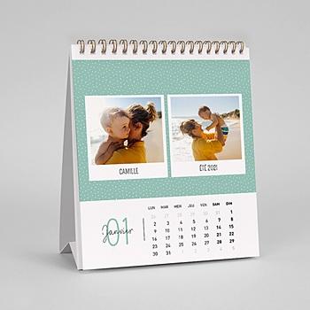 Achat calendrier de bureau portraits de famille